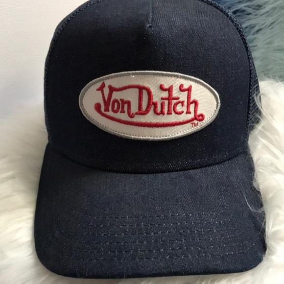 Denim Von Dutch hat (womens). M 5ac60e2d6bf5a63b6f4e0d82 4a5c31f156d